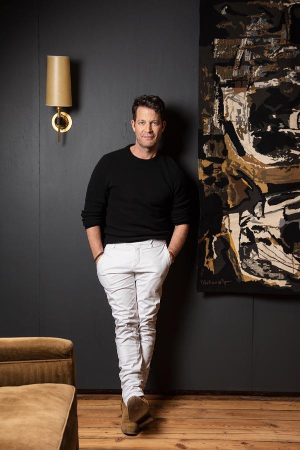 Portrait of interior designer Nate Berkus