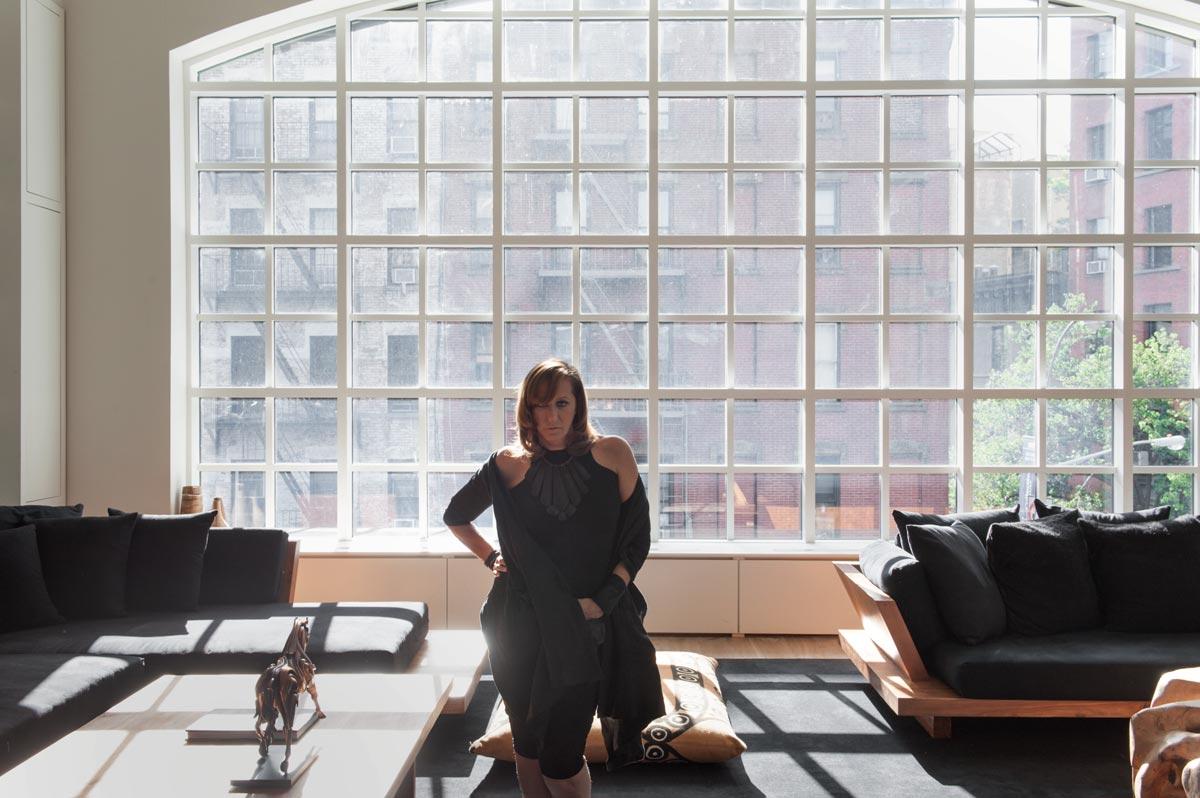 portrait of fashion designer donna Karen