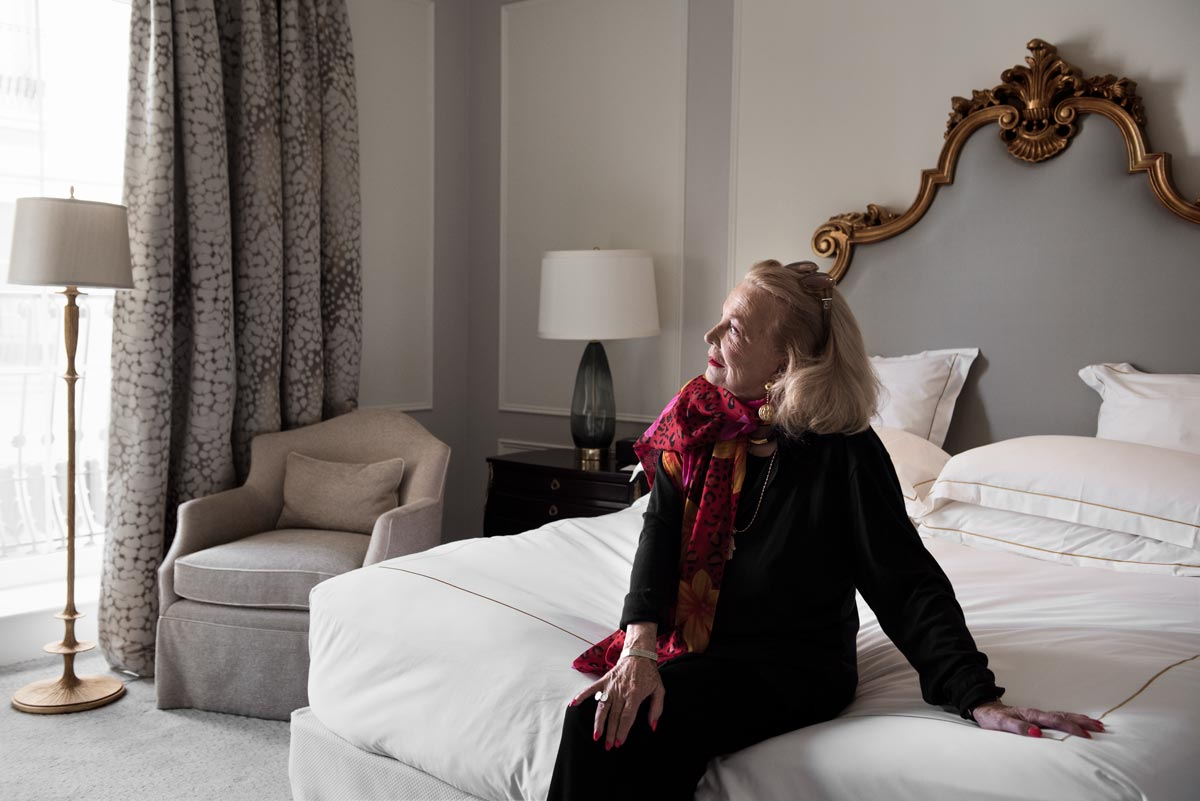 Portrait of actress Gena Rowlands for The New York Times