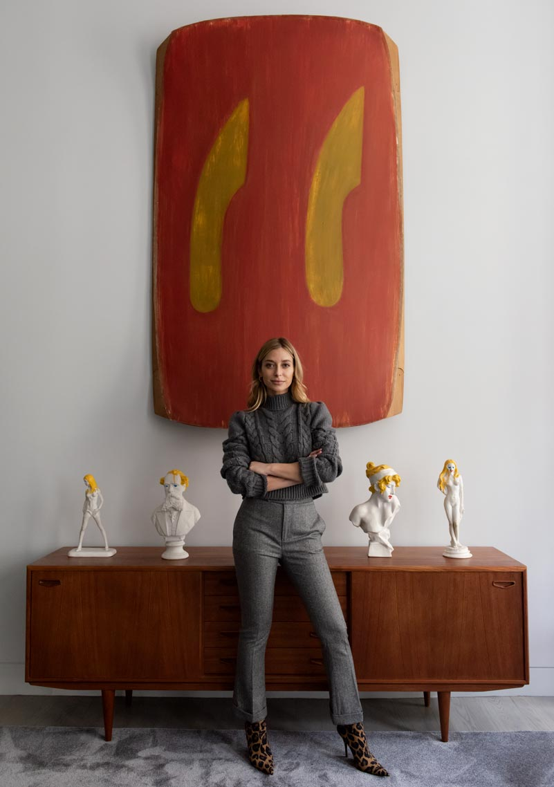 portrait of interior designer Jessie Schuster