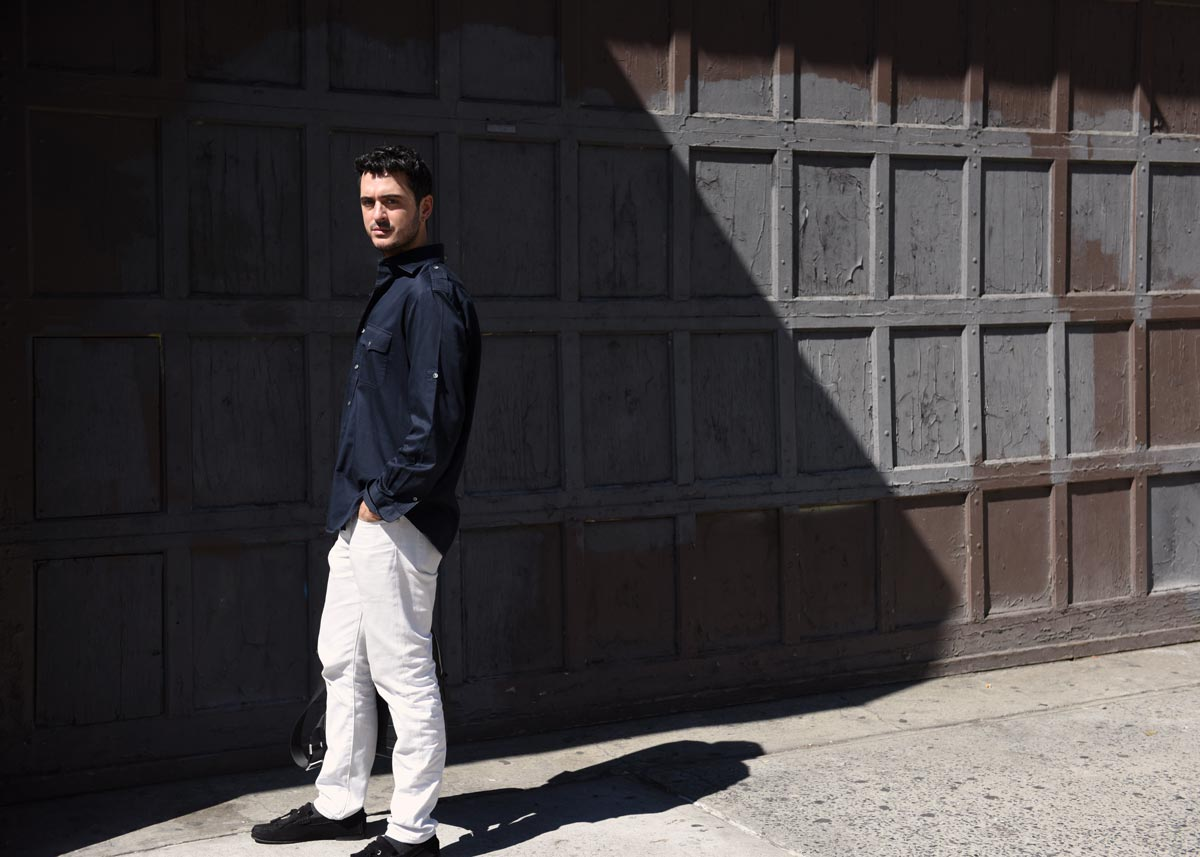 Portrait of interior designer Ryan Korban