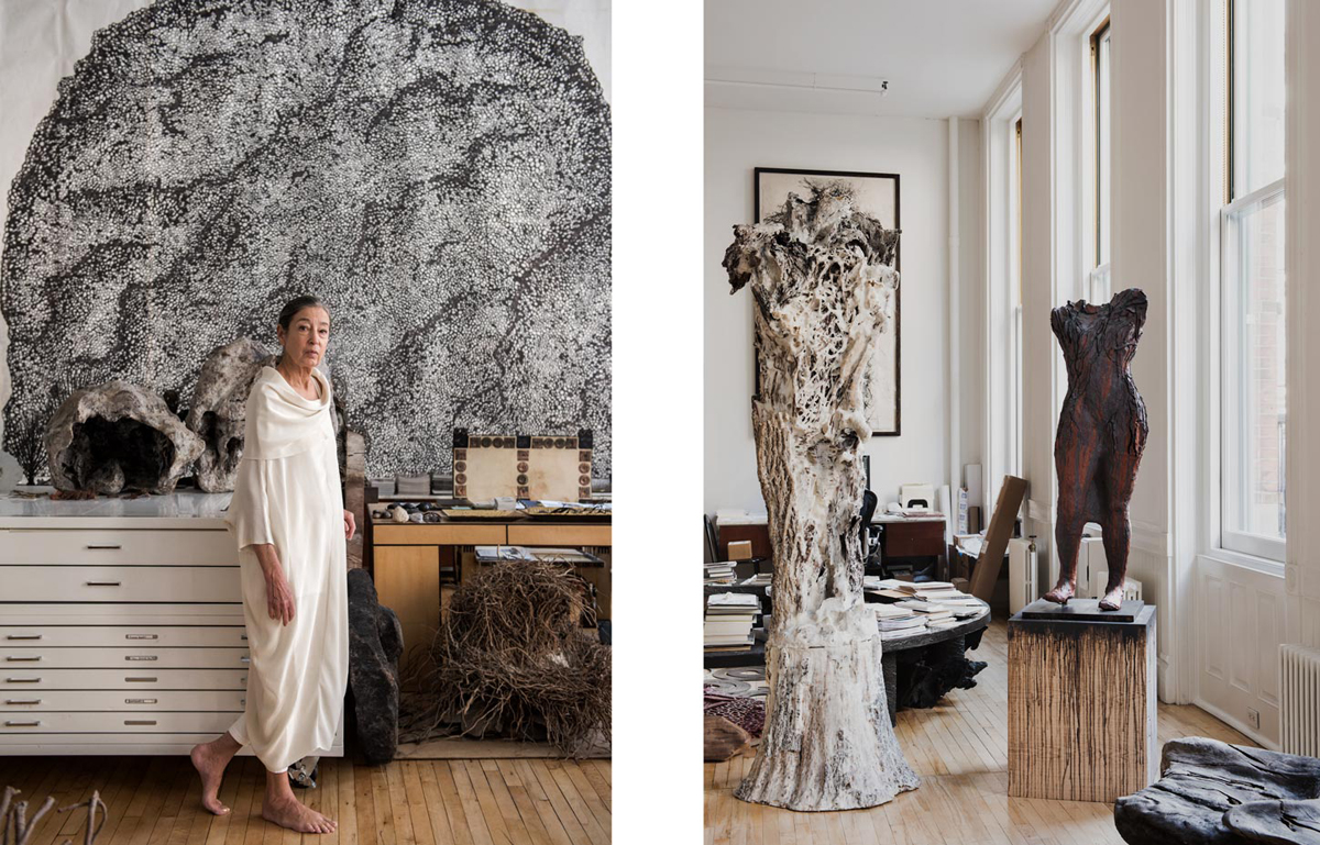 portrait of artist michele Oka doner