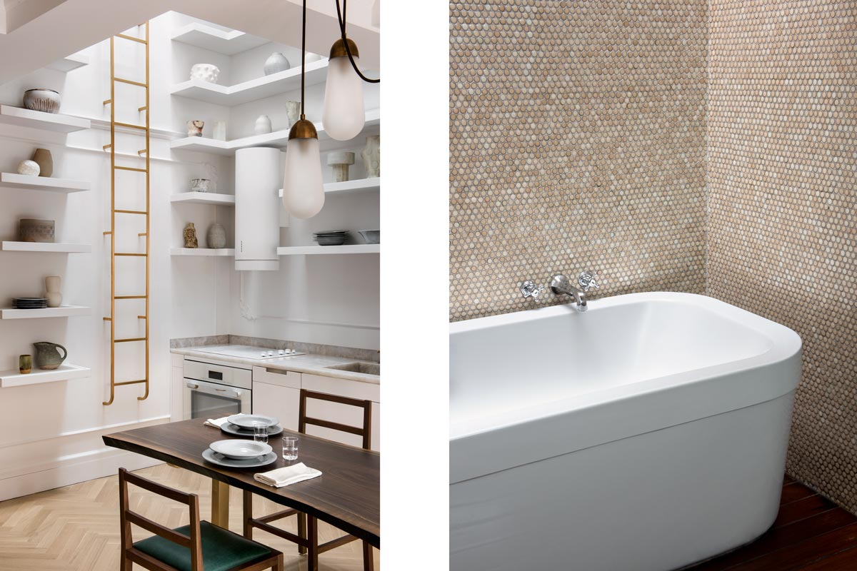 bathroom and kitchen interior photography