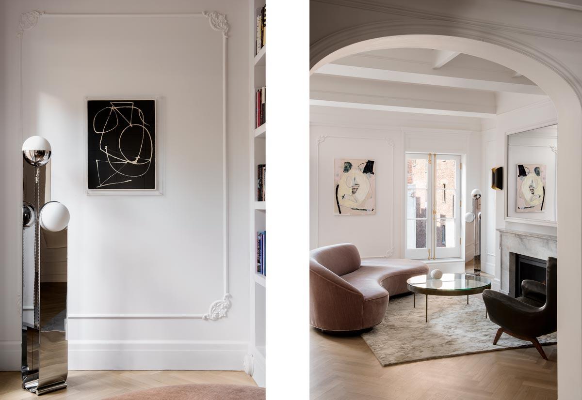 Interior of New York Apartment