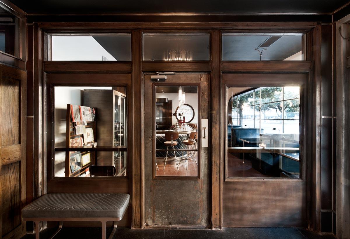 Interior of Diner at the Grey restaurant, Savannah GA