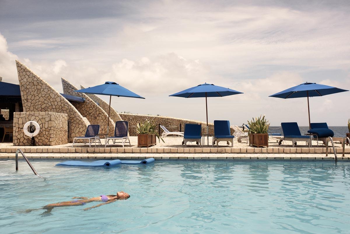 Rockhouse Hotel pool, Jamaica