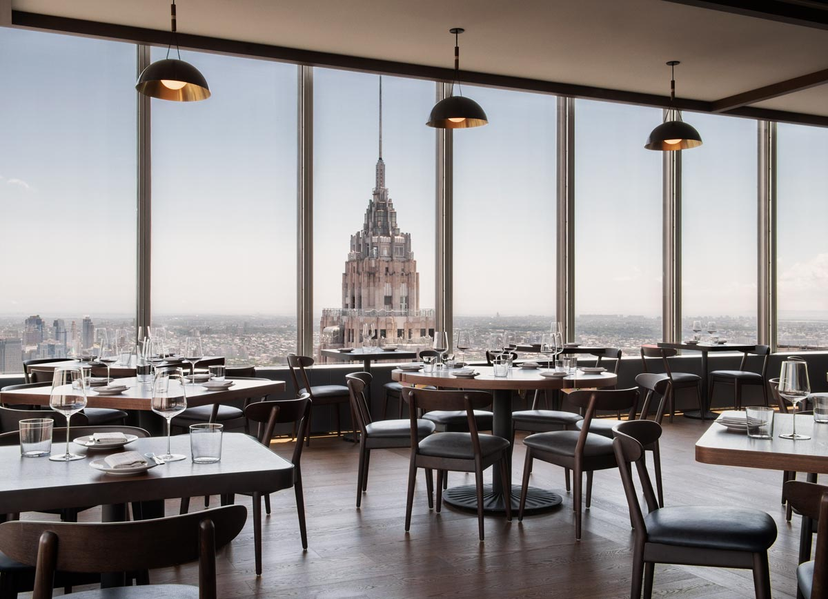 Manhatta Restaurant by chef Danny Meyer, New York City