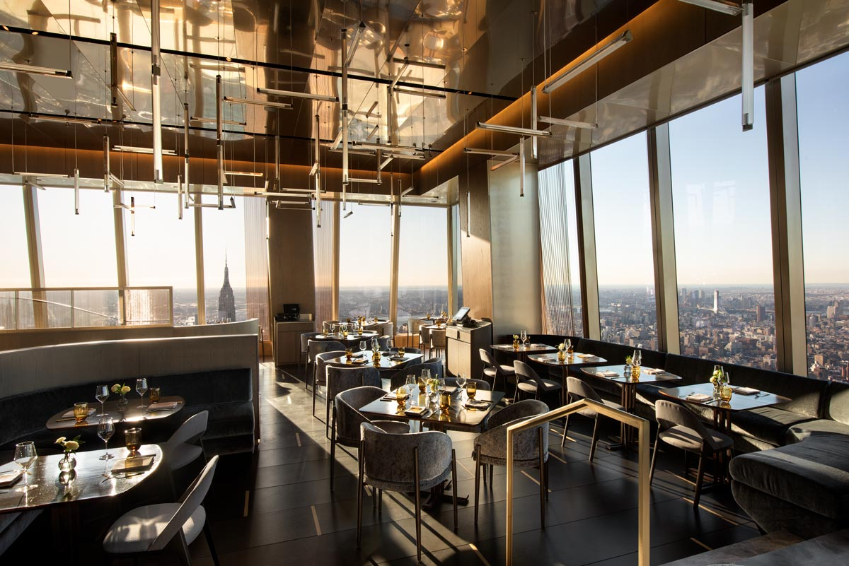 Peak Restaurant, Hudson Yards, NYC