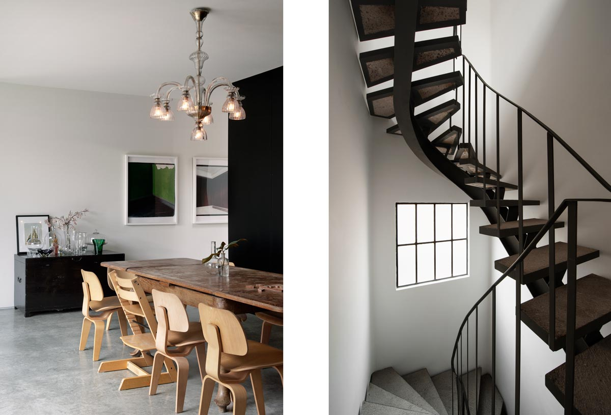 interiors photography stairway